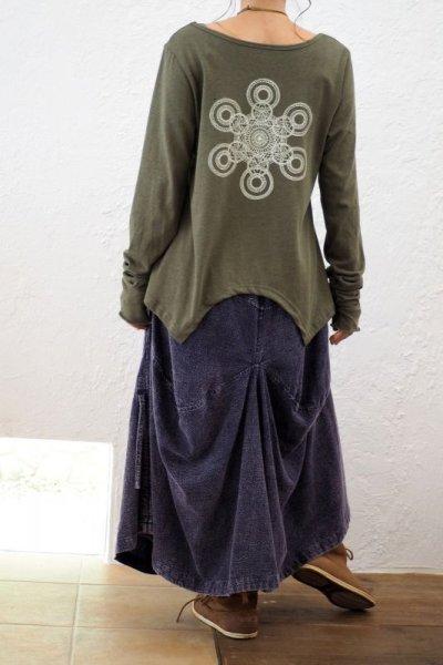 画像1: *エコ染カラーも入荷!Organic Cotton×Hemp  Original Long sleeves T-shirts 8カラー!