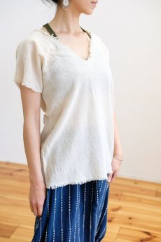 画像3: *ベージュラスト1!Sale 30% OFF!! earth Tee  4 color ~ ukA earth ~MANU★ (3)