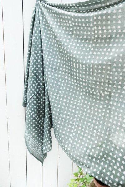 画像3: 手織りコットンシャツワンピース 4カラー2サイズ Fingal