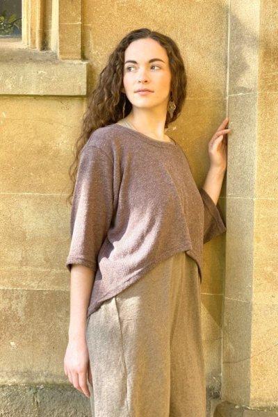 画像1: 手織りコットンシャツワンピース 4カラー2サイズ Fingal