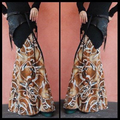 画像3: ND/W Long Skirt : Nouveau 2サイズ NOMAD WORLD [直送アイテム]