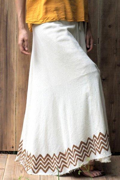 画像2: **カバースカート 4カラー ukAオリジナル レイヤードコーディネートに◎