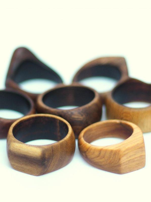 画像1: 香杉のみラスト!natural spirits 凜~Hand made 琉球wood ring ( Lady's ) (1)