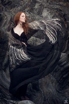 画像1: 5色!Wings scarf オーガニックコットン&シルクカシミヤ Shovava (1)