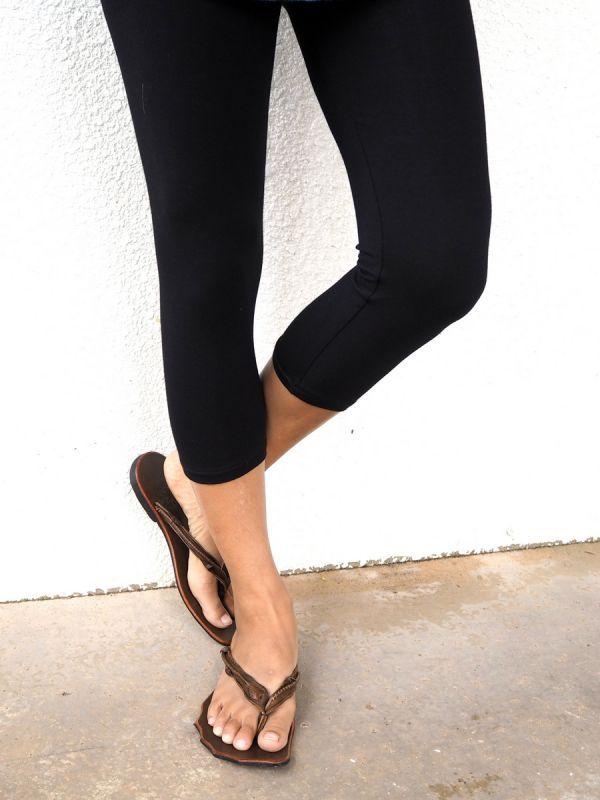 画像1: Longのみ!Sale 40% OFF!! Simple leggings Long & Short ☆uKAjuul☆ (1)