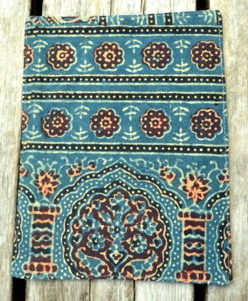画像1: RedAラスト!Sale 15% OFF!! Raw silk 布ナプパッド 5 patterns Trishul (1)