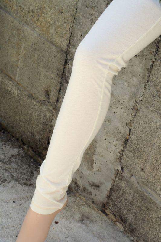 画像1: プレーンラスト1枚!パジャマにも◎Sale 10% OFF!! 妊婦さんにも◎Organic Leggings  ノーマル生地 草木染め 4パターン ☆Ropes Organic cotton☆ (1)