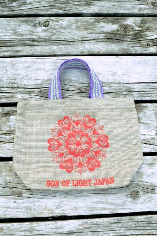 画像1: Sale 20% OFF!! son of light ハートランチバック (1)
