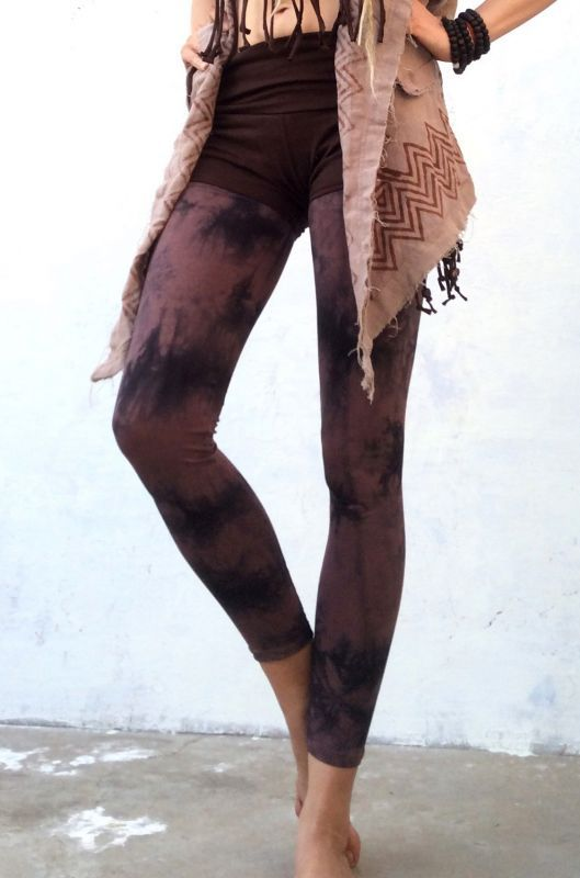画像1: 新色も入荷!YOGAにも最適! Tie dyed leggings 6カラー ☆NATSUMI-YA☆♪ (1)