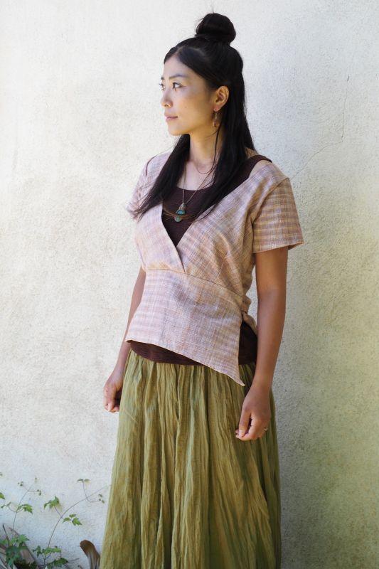 画像3: *Sale 30% OFF!! Original Khadi tops 6 patterns ☆ukA eArth☆ (3)