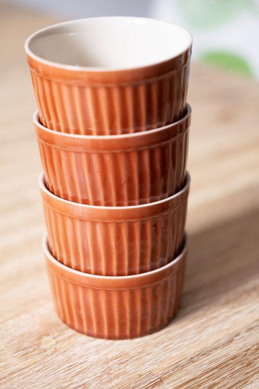 画像1: グラタン皿ラスト!Sale 60% OFF!! 北欧アンティーク食器 4種類 Rainbow (1)