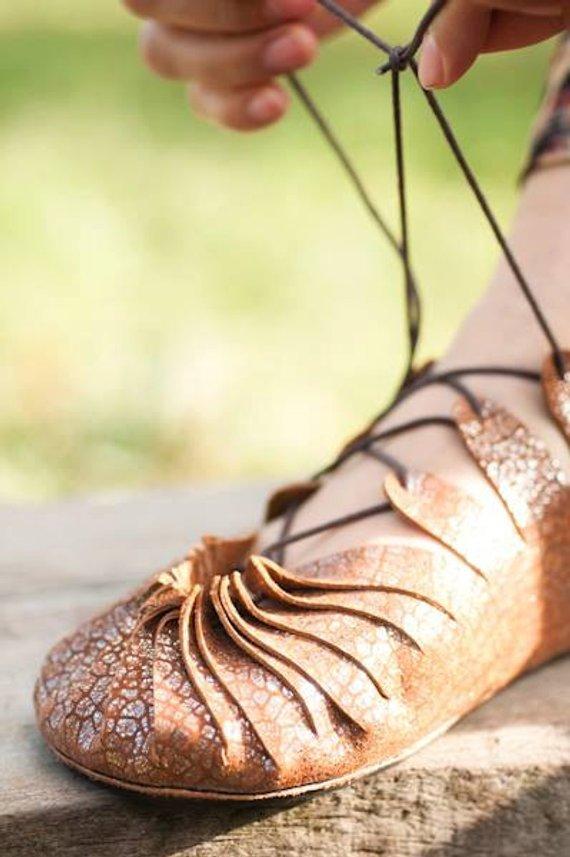 画像1: **サイズ36のみ!Sale 20% OFF!! Pixie Leather Shoes  2サイズ (1)