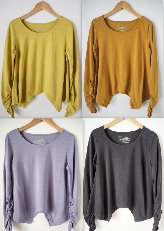 画像1: **ボタニカル染めも入荷!Organic Cotton×Hemp  Original Long sleeves T-shirts 8カラー! (1)