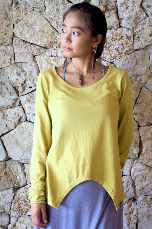 画像1: **エコ染カラーも入荷!Organic Cotton×Hemp  Original Long sleeves T-shirts 8カラー! (1)