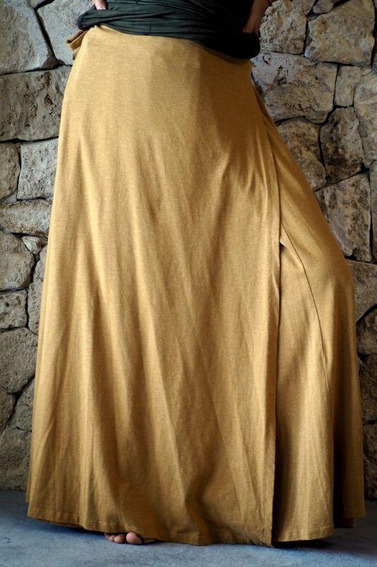 画像1: Sale 10% OFF!! ボタニカル染めも!Organic Cotton×Hemp Wrap Pants 8カラー ukAオリジナル (1)