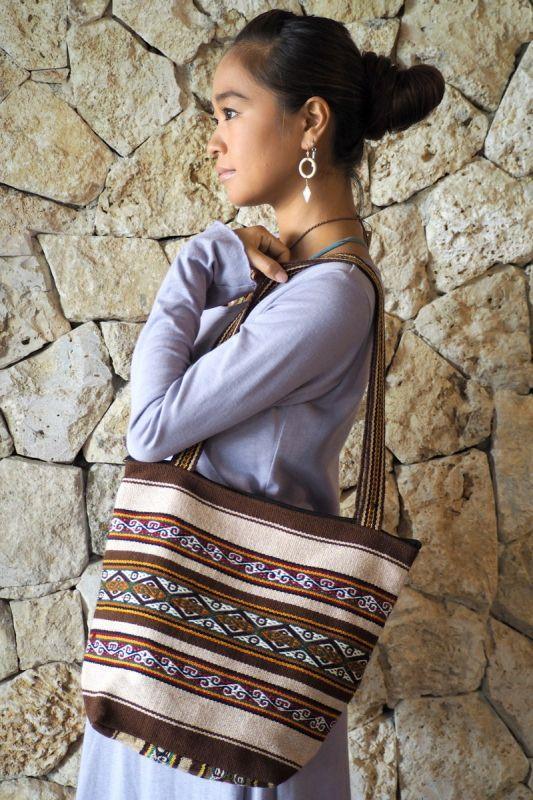 画像1: Sale 30%  OFF!! Inca bag 2カラー ukAセレクト (1)