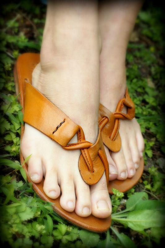 画像1: *Sale30% OFF!! Hand made Leather sandal TL 3colors 3 sizes♪ (1)