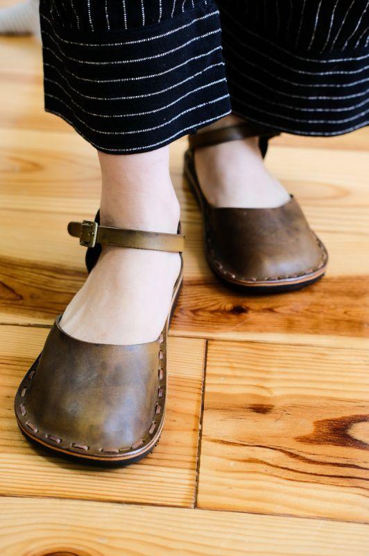 画像1: *Sale20%  OFF!! Hand made Leather shoes NAMON 2colors♪ (1)