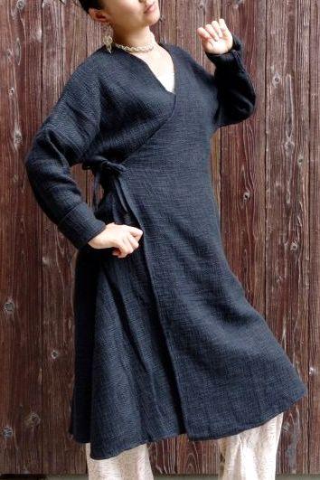 画像1: 手織りコットン厚手カシュクール 5カラー Fingal  [直送アイテム] (1)