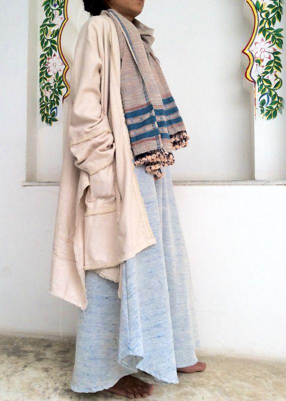 画像1: UKA&MANUコラボ新作入荷!Raw silk カーディガン 3color (1)
