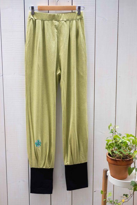 画像1: オーガニックコットンYOGA Pants 3color 〜Sisso〜 (1)