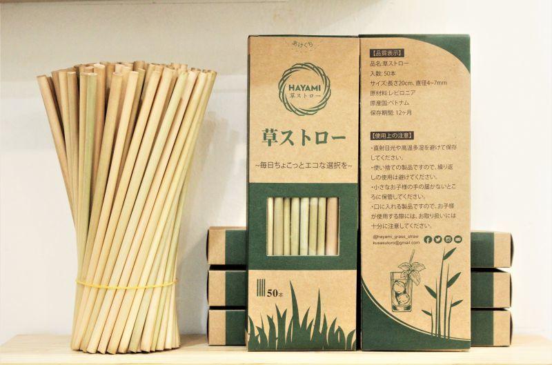 画像1: 価格改定!!草ストロー登場です!  Hayami 送料無料対象外商品 (1)