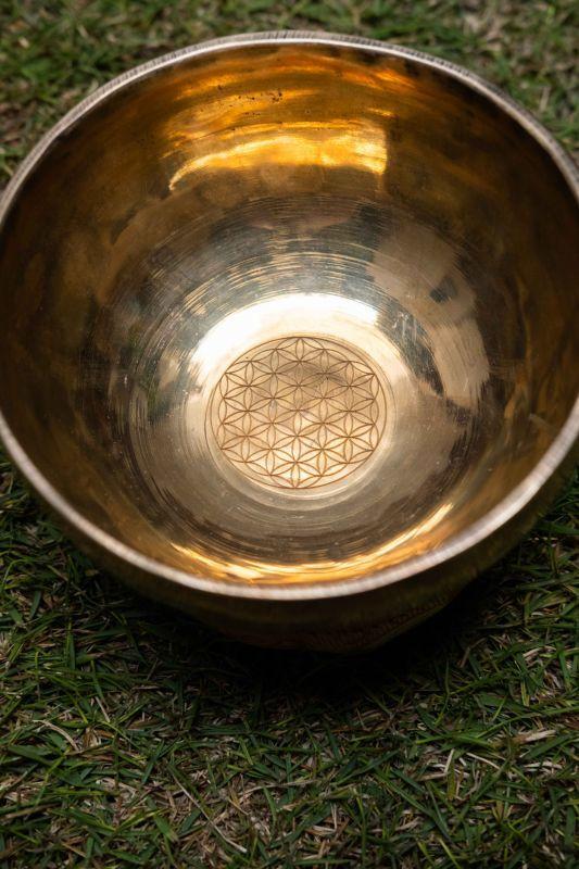 画像1: シンギングボウル 〜ノーマルボウル フラワーオブライフ〜 4種類 Himalayan Sounds (1)