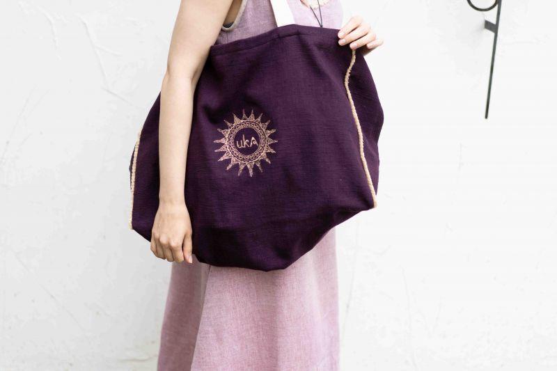 画像1: **ukA オリジナル Big Eco bag  (1)