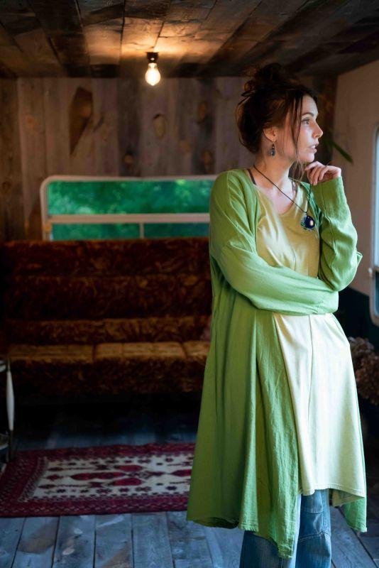 画像1: 欠品カラー再入荷!薄手手織りコットンカシュクール羽織り 6カラー Fingal (1)