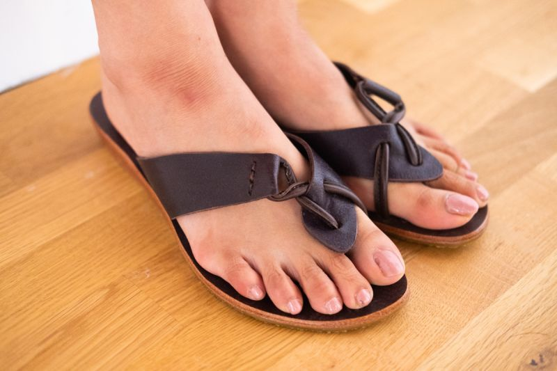 画像1: **ブラウン 39ラスト!Sale30% OFF!! Hand made Leather sandal TL 3colors 3 sizes♪ (1)