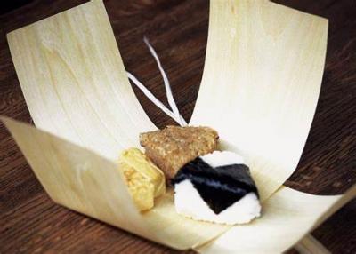 画像1: お弁当に、おむすびに!昔の人の知恵『経木』 キママクラブ *送料無料対象外* (1)
