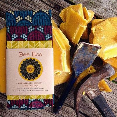 画像1: オーガニックコットン・Bee Eco wrap 蜜蝋ラップセット 3種類 (1)
