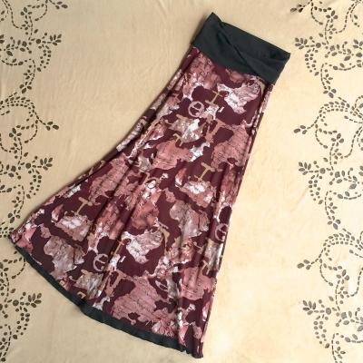 画像1: ND/W Long Skirt : Nouveau 2サイズ NOMAD WORLD [直送アイテム] (1)