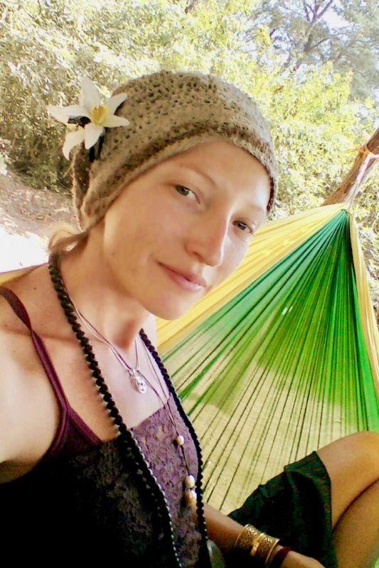 画像1: スナフキンハットのみ!手紡ぎ手編み ヒマラヤネトル ビーニー帽 3デザイン NATSUMI-YA (1)
