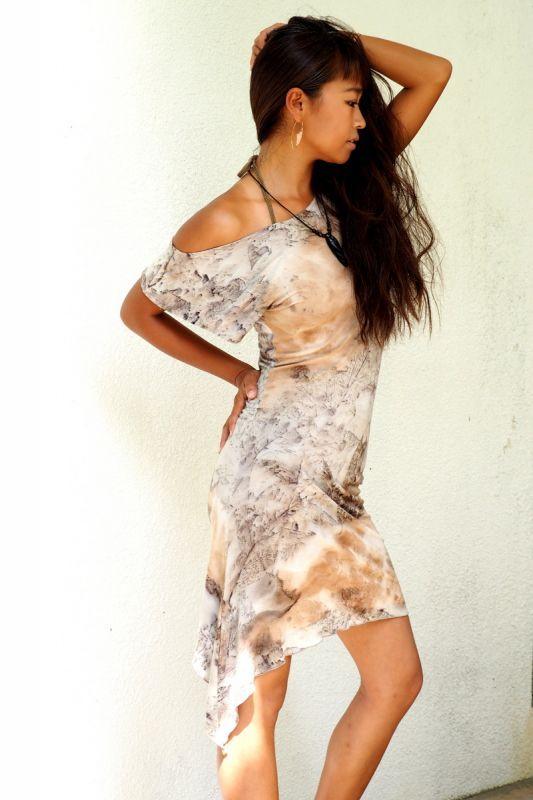 画像15: *Sale 10% OFF!! Amazon Dress ~Greensteam dye~ HIKARI Green (15)