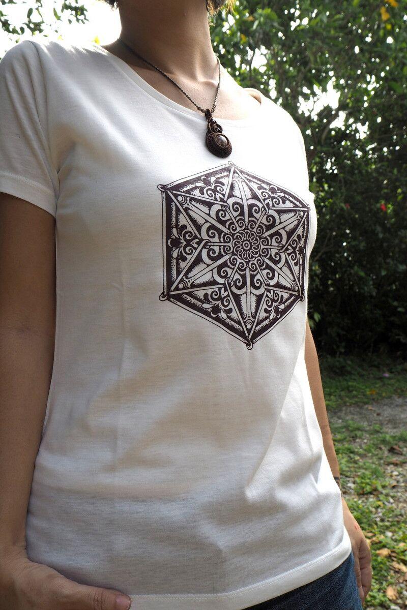 画像1: 手彫りシルクスクリーン Tシャツ 3deisgn Tinge Works (1)